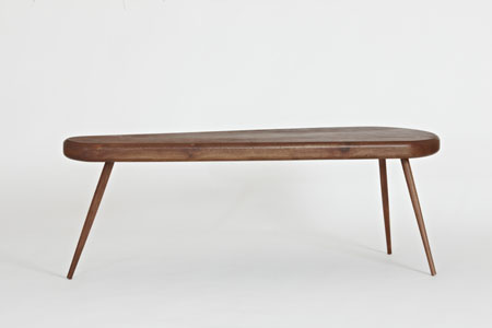 American Walnut Coffee Table